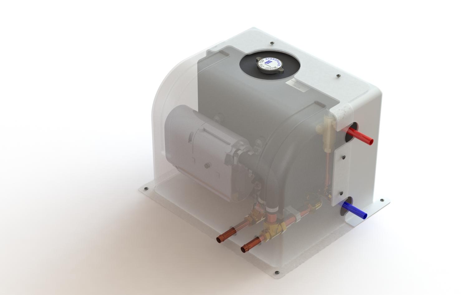 It hydroplate acqua calda in continuo e riscaldamento for Pex sistema di riscaldamento ad acqua calda