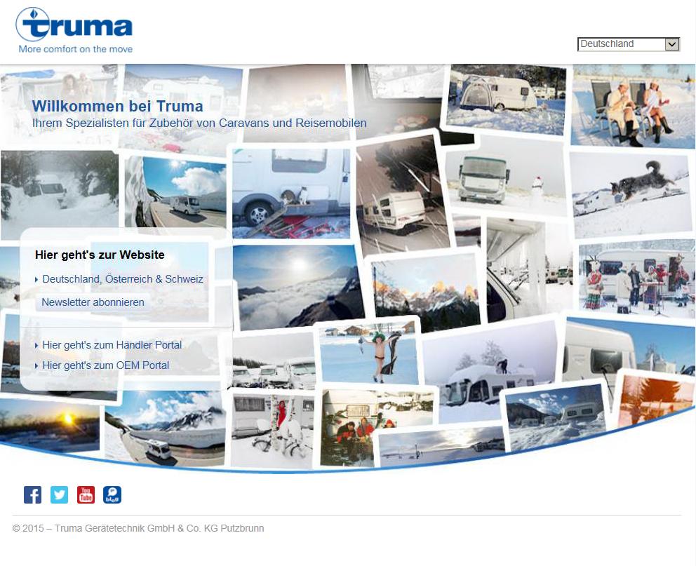 New_Truma_starting_page